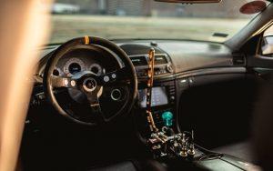 Interior in Mercedes W211 for drift
